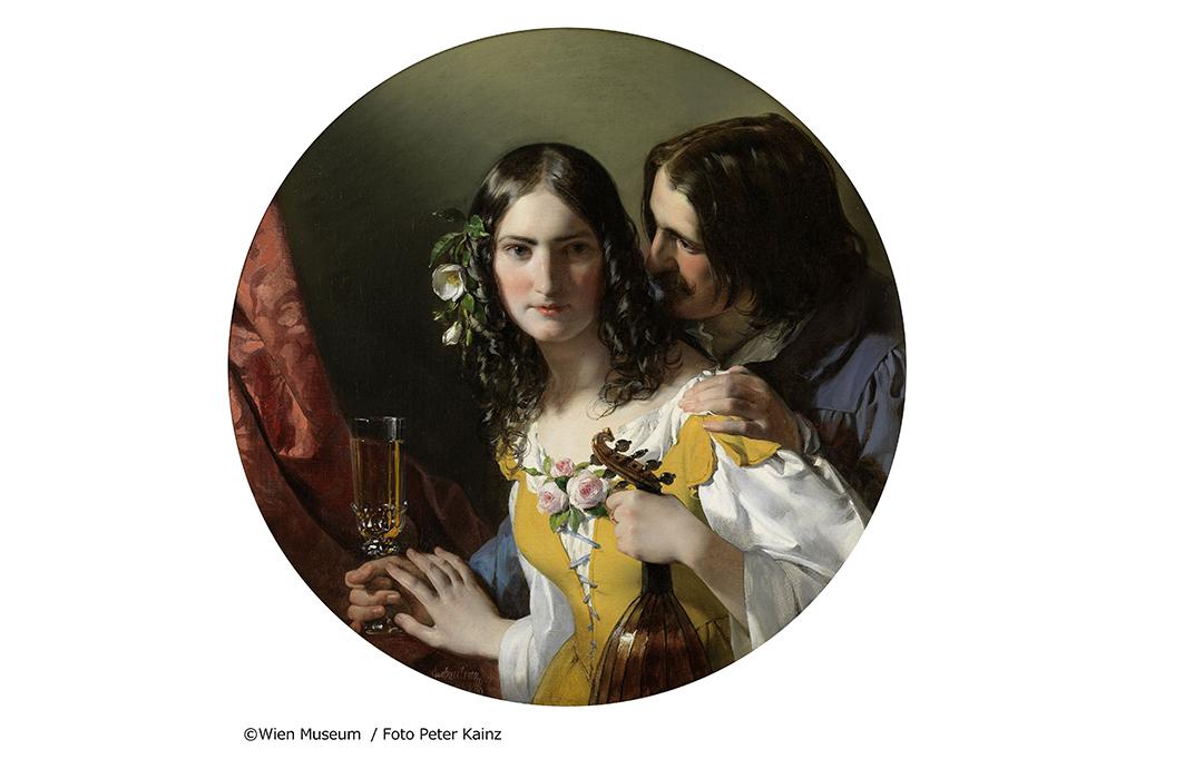 フリードリヒ・フォン・アメリング《3つの最も嬉しいもの》1838年